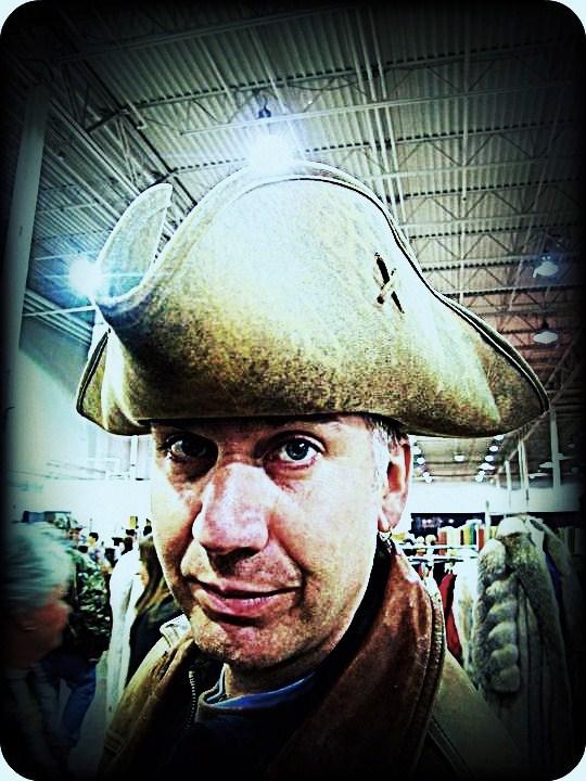 My Hat it has 3 Corners