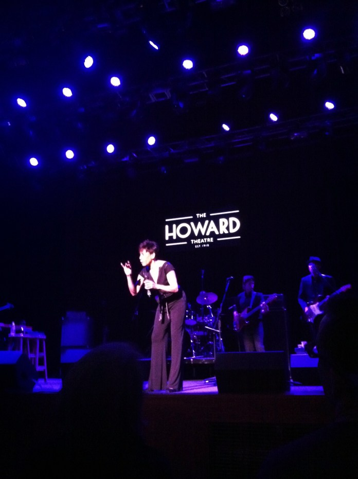 Bettye LaVette live at the Howard Theatre, Washington, DC May 18th, 2013, photo by Joseph P. McRedmond