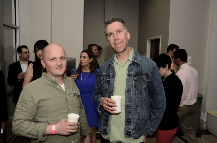 "Cameron & Joe at Washington City Paper's ""Best Of"" Party. Photo by Justin Alexander."