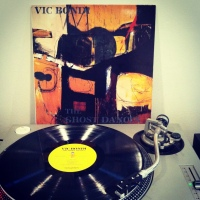 "Vic Bondi ""The Ghost Dances"" - Wishing Well Records 1988. Produced by Don Zientara & Vic Bondi."