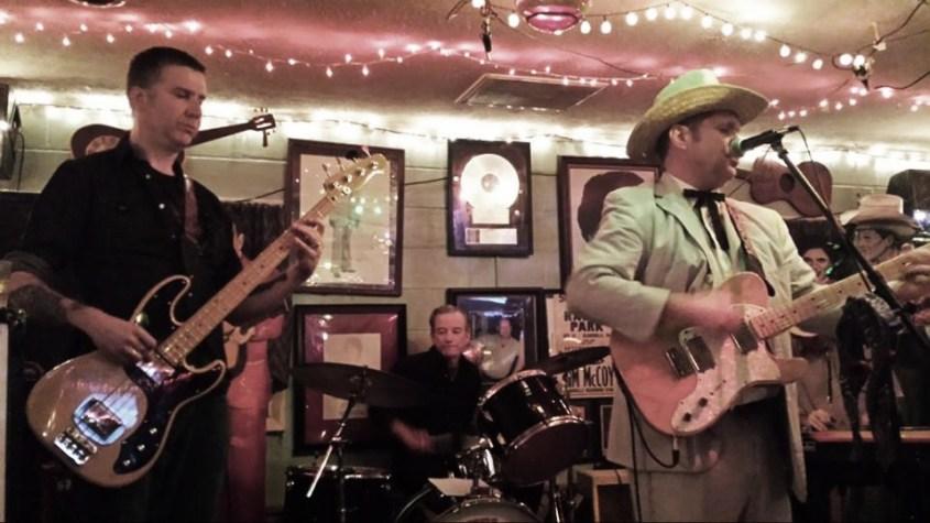 Colonel Josh & the Honky Tonk Heroes at Troubadour Lounge and Park Berkeley Springs, WVA - September 2013. Photo by Jane Staub Towler