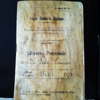 The Oldest Thing in my Possesion: My Great Grandfather's, Giuseppe DiFede, Libretto Personale