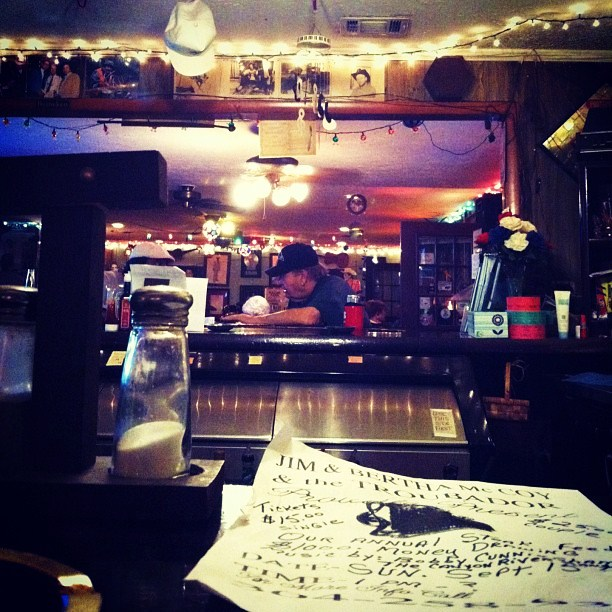 My favorite view inside Jim McCoy's Troubadour Lounge and Park