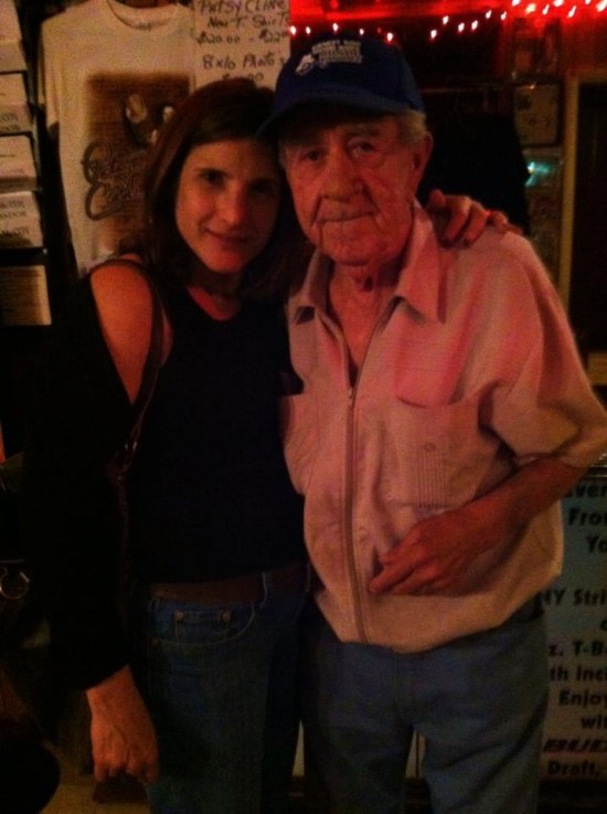 My wife with Jim McCoy
