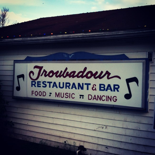 Troubadour Restaurant & Bar. Photo by Joseph P. McRedmond