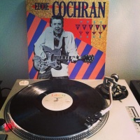 C'mon Everybody! It would have been Eddie Cochran's birthday today. Man, that's Somethin' Else.