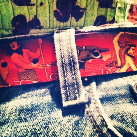 Jon Wye Mermaids & Mermen Belt