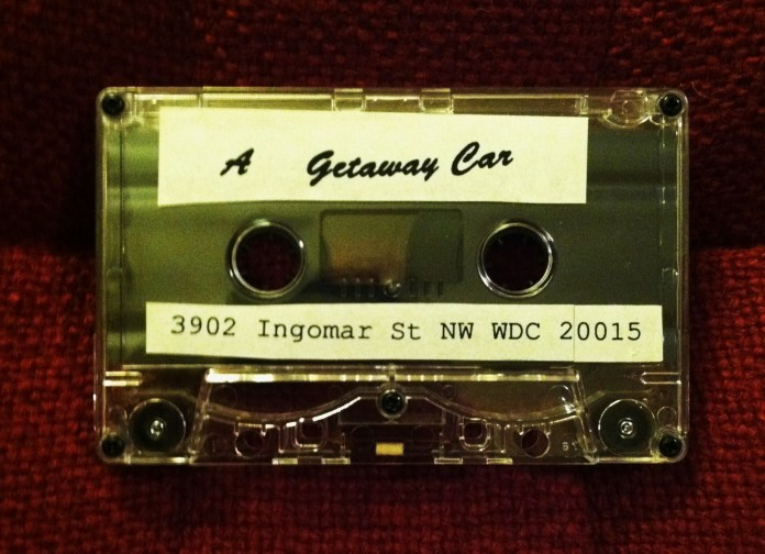 Getaway Car Demo Cassette