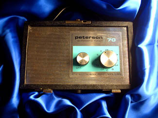 Peterson Model 70 Photo from http://www.petersontuners.com/index.cfm?category=26