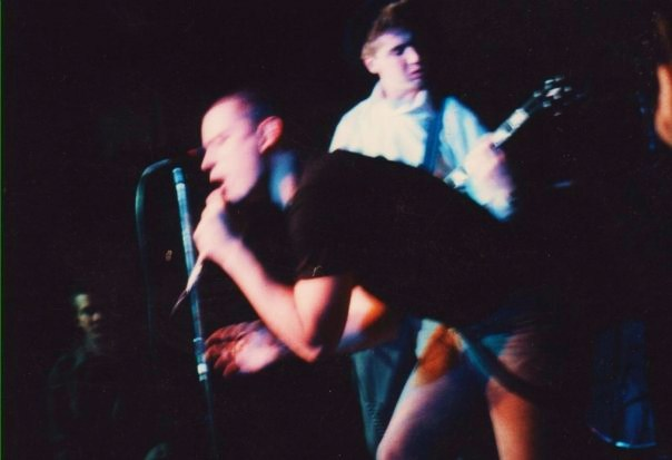 Sacred Hate Live at The West Shore Democratic Club, Enola, PA 1986. Photo by Chris & Crystal DiPietro