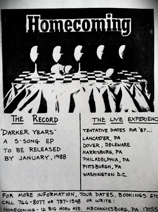 Homecoming, announcement of record release